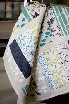The Allsorts quilt - blues and greens | Flickr - Photo Sharing!