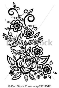 10 best flower outlines images mandalas flower designs drawing s rh pinterest com