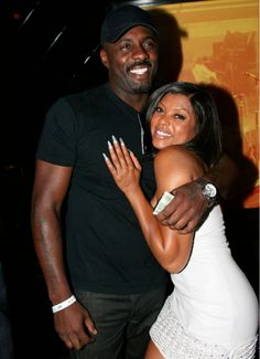 DID TARAJI P. HENSON AND IDRIS ELBA HAVE A 'THING' FOR EACH OTHER? http://madamenoire.com/274351/did-taraji-p-henson-and-idris-elba-have-a-thing-for-each-other/ Yess Tarajii you better snatch up that fine chocolate man!!!