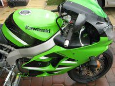 KAWASAKI ZXR 600 cc ZX6R J2 2002 - http://motorcyclesforsalex.com/kawasaki-zxr-600-cc-zx6r-j2-2002/