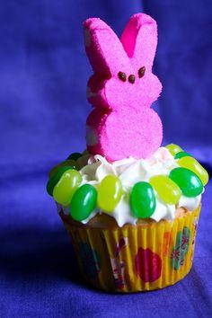 Bunny Garden Cupcakes