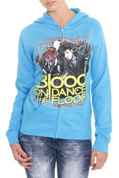 Blood On The Dance Floor Bewitched Girls Zip Hoodie