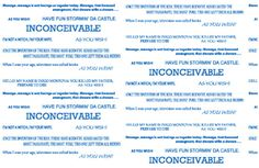 The Princess Bride Inconceivable Infinity by SassySkirtsForGals