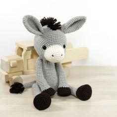 Donkey amigurumi pattern by Kristi Tullus
