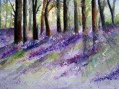 Bluebell Wood.Yvonne Harry
