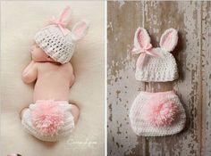 NEŞELİ SÜS EVİM: Tığ İşi Yenidoğan Bebek Kostümleri