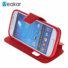 Window Pu Leather 4 3For Samsung Galaxy S4 Mini Case For Samsung Galaxy S4 Mini I9190. Click visit to buy #FlipCase #case