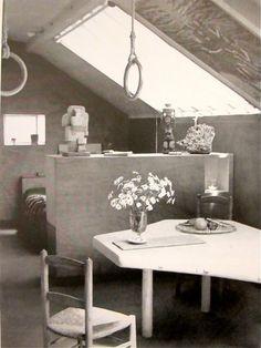 Charlotte Perriand's Apartment / Paris / 1938 (?)