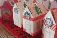 Χαρούμενα σπιτάκια-Χριστουγεννιάτικο ημερολόγιο!!! - 2 boys + Hope