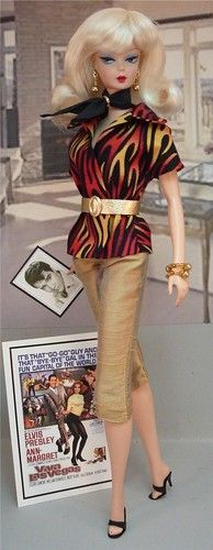 Waiting for Elvis inspired Barbie Doll...