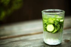 Iced Cucumber Mint Water