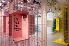 Maif Social Club - Causes Toujours, du hashtag à la rue - 2019 Exhibition Booth Design, Exhibition Display, Exhibition Space, Exhibit Design, Display Design, Store Design, Visual Display, Co Working, Shop Interiors