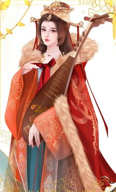 Chinese Drawings, Chinese Art, Girly Drawings, Ancient Beauty, Gal Meets Glam, Historical Art, Chinese Clothing, Special Dresses, Traditional Fashion