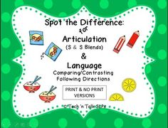279 Best Articulation ideas images in 2016 | Speech language therapy