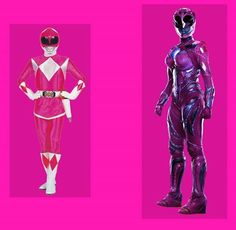 Pink Ranger Dc Comics Art, Marvel Dc Comics, Power Rangers Pictures, Pink Power Rangers, Rangers Team, Batman Party, Female Hero, Mighty Morphin Power Rangers, Classic Toys