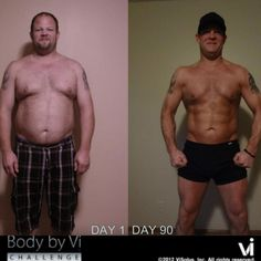 Brian LeQue, congratulations on your ViSalus Body by Vi Transformation... Beast Mode ON!