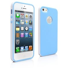 iPhone 5S Case, MagicMobile® New Deluxe 2-Piece Stylish Ultra Slim Thin White Frame Bumper Smooth Flexible TPU cover [Light Blue] with Screen Protector, Stylus and Charm MagicMobile http://www.amazon.com/dp/B00HS39PUI/ref=cm_sw_r_pi_dp_o.L-ub1WCRR5P