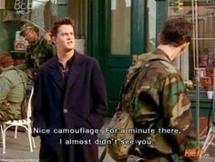 Sarcasm is your first language: | Community Post: 44 Reasons Why You're Chandler Bing