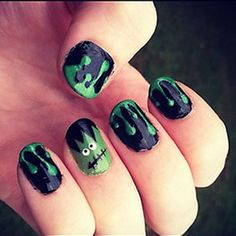 Loving these nails for #Halloween