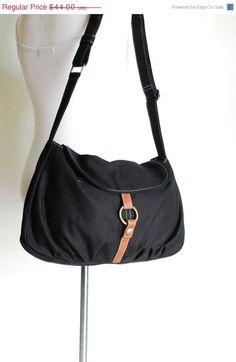 VALENTINES DAY SALE 20% Fortuner-S in Black / Centre Zipper Pocket / Purse / Laptop / Shoulder / Messenger Bag / Handbag / Wallet / Diape
