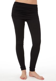 Foldover Skinny Yoga Pant in May 2013 from Alloy on shop.CatalogSpree.com, my personal digital mall.