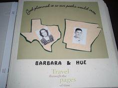 Oxford Impressions 50th Wedding Anniversary Scrapbooking Ideas Such A Cute Scrapbook Idea