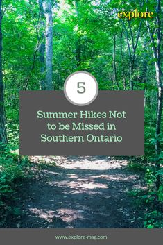 Southern Ontario is an outdoor wonderland, filled with natural gems. With dense wooded trails and no shortage of waterfalls, these five hikes should be on your bucket list this summer. Canadian Travel, Canadian Rockies, Weekend Trips, Day Trips, Ontario Provincial Parks, Ontario Travel, Travel Photography, Vancouver Photography, Best Hikes