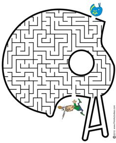 football maze | Football Maze: Help the football player find his helmet
