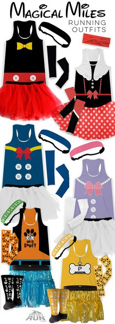 Disney Costume Dress up and have fun for your magical race or big run with running outfits, These fun costumes are a great way to stand out or to run together as a team. Disney 5k, Disney Races, Disney Shirts, Disney Ideas, Villain Costumes, Run Disney Costumes, Cool Costumes, Costume Ideas, Disney Princess Half Marathon