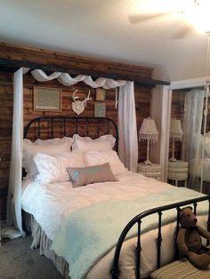 Dream Bedroom, Home Bedroom, Bedroom Decor, Bedroom Ideas, Master Bedroom, Headboard Ideas, Diy Headboards, Diy Pallet Wall, Pallet Wall Bedroom