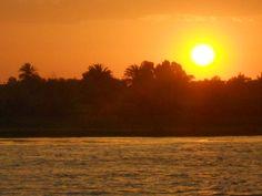 Il tramonto a Luxor