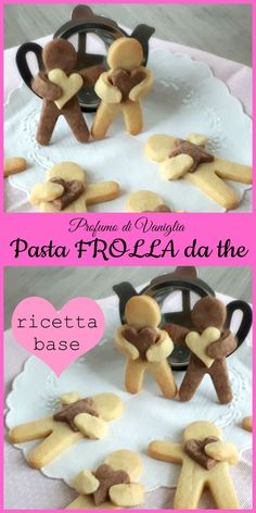 Pasta FROLLA da the – ricetta base Das Rezept für Mürbeteig gehört zu den R.Pasta FROLLA da the - ricetta base The recipe for shortcrust pastry is one of the recipes that never fail in the recipe book of Italian women. There are countless versions Italian Pastries, Italian Desserts, Italian Recipes, Pastry Recipes, Tea Recipes, Cookie Recipes, Short Pastry, Shortcrust Pastry, Italian Cookies