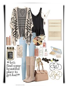 """""""Let's find a place..."""" by sydneymellark ❤ liked on Polyvore featuring H&M, Frame Denim, Forever 21, Serefina, philosophy, Casetify, Dot & Bo, Canmake, Natural Curiosities and Charlotte Tilbury"""