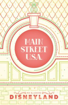 Main Street U.S.A. by *Mr-Bluebird on deviantART