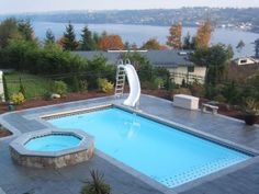 Swimming pool designs and landscaping landscaping for Pool design washington dc