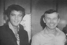 Elvis and Johnny Carson.