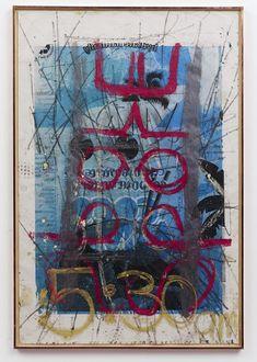 Oscar Murillo  http://www.widewalls.ch/pangaea-at-saatchi-gallery/ #urbanart #saatchi gallery