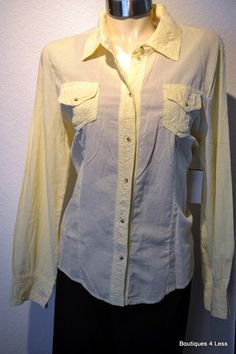 XCVI Women's Tops Daisy Yellow Blouse Retail $114 Size 1X Plus  Ours 4 Less $43.99
