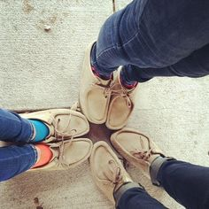 Clarks Wallabees Instagram photo by @carleemoon