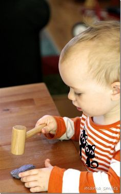 Play dough - the creative medium for all ages. Favorite ways to play with play dough and favorite play dough tools.