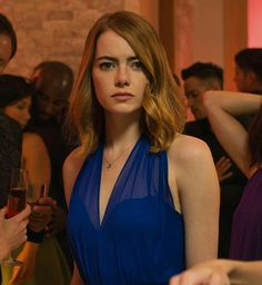 Emma Stone - La La Land - is nominated for Actress in a Leading Role for Oscars 2017.