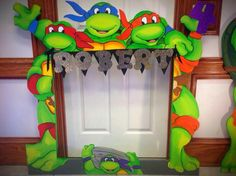 Ninja Turtles photo frame