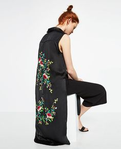 FLORAL EMBROIDERED SHIRT-View all-TOPS-WOMAN-COLLECTION AW16 | ZARA United States