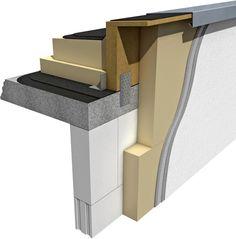 Hoch gedämmte Gebäudehüllen sind nichts Ungewöhnliches mehr. Um so mehr fordern heute geometrische, konstruktive und materialbedingte Wärmebrücken die Aufmerksamkeit der Planer. Vor diesem Hintergrund hat Puren ein Attikaelement aus <a href=