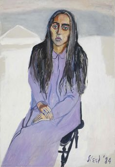 alice neel paintings | Alice Neel. Ginny, 1984. Oil on canvas, 111.8 x 76.2 cm. Estate of ...