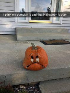 Awww!😓😢 that pumpkin is soooo cute!!!
