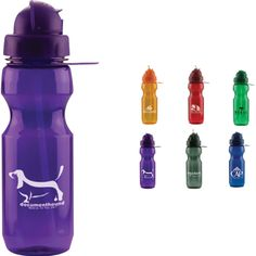22 oz. Domed flip action water bottle with straw. Polycarbonate straw sports bottle with pull back cap exposing plastic straw on a twist cap. Includes a ring for a carabiner. More vibrant colors to choose from! Great giveaways for sporting events, special gifts, and much more! Great for hiking, mountains, forest, running, outdoors, jogging, camping, swimming and boating.
