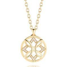 Petradura Round #DiamondPendant