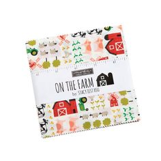 Moda Fabrics On The Farm Stacy Iest Hsu Charm Pack Fabric Squares