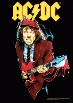 angus : angus young el mejor d todos Angus Young, Bon Scott, Pop Rock, Concert Posters, Rock Posters, Great Bands, Cool Bands, Rock Internacional, Beatles
